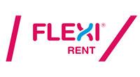Flexi Rent logo.